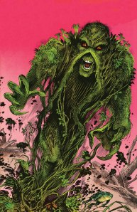 Sea anemones are not a real life version of Swamp Thing from DC Comics.