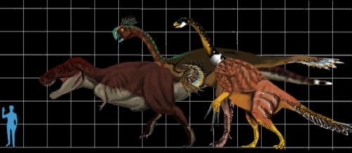giant coelurosaurs