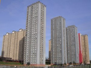 Red Road flats. Glasgow. Wikipedia.