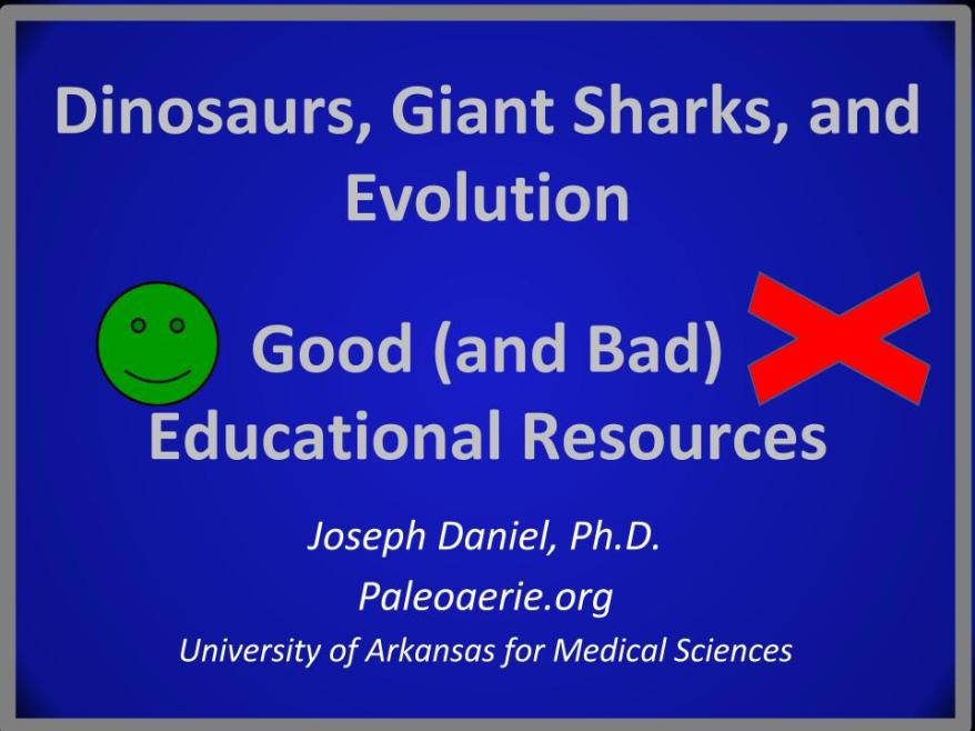 Dinosaurs, Giant Sharks, and Evolution2.pptx