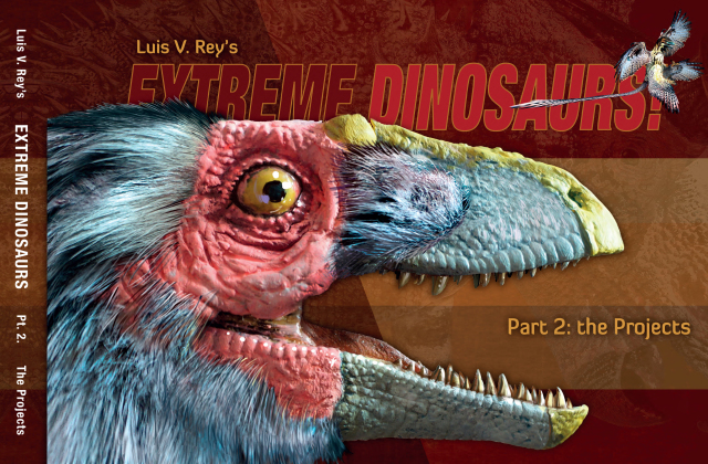 Extreme Dinosaurs 2 cover © Rey